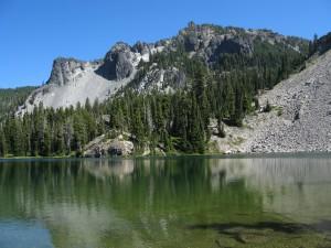 Cliff Lake and Devil's Peak
